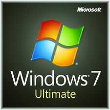 Windows 7 Ultimate 32/64bit License (Original Genuine Product Key)
