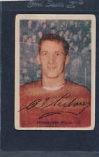 1953/54 Parkhurst #037 Al Arbour Red Wings Fair 53PH37-121915-1