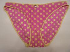 Fredericks of Hollywood Polyester Satin Bikini Panty