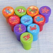 Lot 2PCS Self-ink Rubber Stamps  Party Event Supplies Birthday Cute present Toy