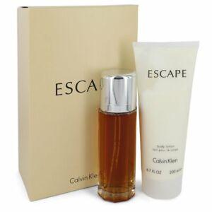 Escape By Calvin Klein Gift Set - 3.4 oz Eau De Parfum Spray + 6.7 oz Body Loti