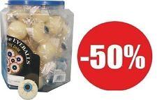 1 BALLE YEUX PHOSPHORESCENTE jeux jouets kermesse halloween fluo 3,5 cm REBONDIT