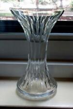 Pristine Baccarat MASSENA Hour Glass Shaped Vase w/ Protective Felt Pads