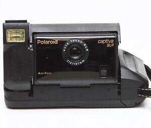 Vintage Polaroid Captiva SLR Instant Film Camera Made in USA