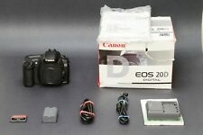 Canon EOS 20D 8.2MP DSLR, Black, Tested, Clean and Nice, Free Shipping US #1