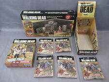 McFarlane Walking Dead THE GOVERNOR'S ROOM Building Set Figure Pack Lot NEW 2014