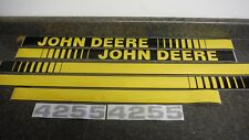 John Deere 4255 Tractor Decals Hood Amp Numbers Only See Details Amp Pictures