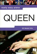 Klavier Noten : QUEEN - 20 Queen Hits (Really Easy Piano ) leicht