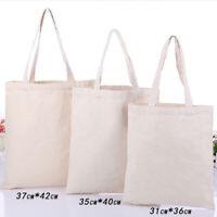 31*36cm Sublimation Blank Shopping Bag/Canva Bag for Heat Press Printing - 10Pcs
