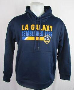 Los Angeles LA Galaxy MLS Women's Adidas Climawarm Pullover Hoodie