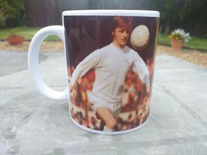 Allan Clarke Leeds United Cult Hero tribute mug 11oz brand new Christmas Gift