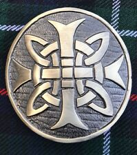 Men's Kilt Belt Buckle Celtic Round Antique Finish/Celtic Swirl Belt Buckles