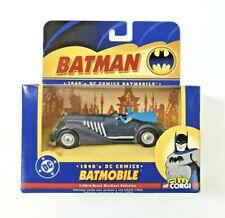 CORGI Batman DC Comics 1940s BATMOBILE BMBV2 1:43 Scale Die Cast Vehicle 2005