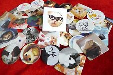 1 box 38 PCS cat sealed envelope diary Scrapbooking stationery paper  stickers
