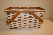 Longaberger Everyday Medium Market Basket Set - Ivory