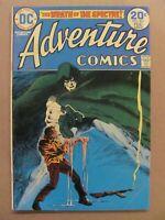 Adventure Comics #431 DC Comics 1938 Series Spectre begins