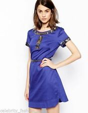 French Connection Party Short Sleeve Tunic Dresses for Women