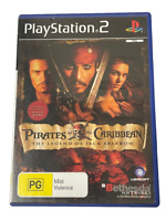 Pirates of the Caribbean The Legend of Jack Sparrow PS2 PAL *Complete*