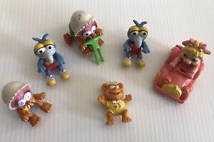 Vintage 1986 Lot Of 6 McDonalds Muppet Babies Toys