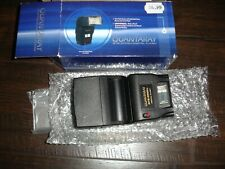 New Qty 2 Dslr Camera Quantaray Flashes Universal Twin Flash Units