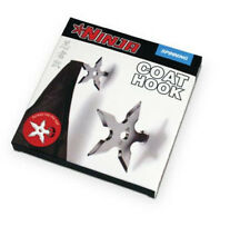 Ninja Coat Hook Fake Throwing Star Fun Silver Adult Movie Game Men