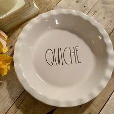 Rae Dunn Quiche 10