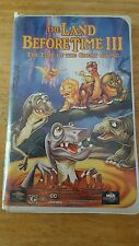 * DISNEY'S 'The Land Before Time III Time of Great Giving (VHS, 1995, Clamshell)