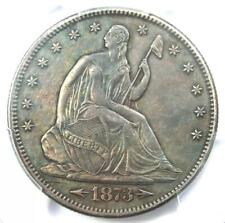 1873-CC Arrows Seated Liberty Half Dollar 50C Carson City Coin - PCGS XF Details