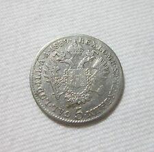 AUSTRIA. SILVER 5 KREUZER, 1839 A. FERDINAND I.