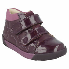 Leather Upper Boots Hook & Loop Fasteners Shoes for Girls