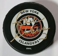 New York Islanders Zdeno Chara Signed Autographed Game Puck NHL Hockey Auto
