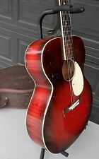 Vintage Kay Flat Top Acoustic K-15 Guitar, Case, Original, Good