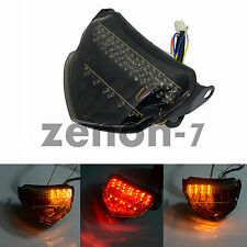 for Suzuki GSXR GSX-R 600 750 2004 2005 Smoke Lens  LED Tail Light Turn Signal