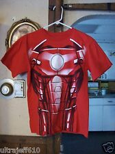 Mens Licensed Marvel Iron Man Shirt kids lg