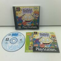 Rugrats (PS1) Sony Playstation 1 (PAL) Complete With Manual Original Black Label