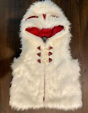 Princess Mononoke Anime Studio Ghibli Fur Vest Cosplay Anime M Medium New