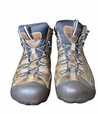 KEEN 1008418 Men's Targhee II Mid Waterproof Hiking Boot Size10 Brown