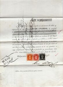 CHILE 1873 First Perforate great mix franking multicolor MUST SEE