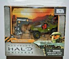 Mega Bloks HALO Universe / Metal Series / UNSC Warthog mit 2 Figuren+Sammelfigur