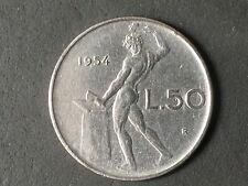 REPUBBLICA LIRE 50 1954 OTTIMA CONSERVAZIONE