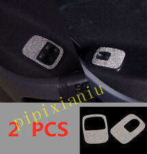 2pcs Interior Door Window switch Lift Panel Cover For Smart EQ Fortwo 2016-2019