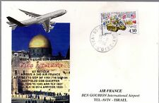 B0297- MISE EN LIGNE AIRBUS A 340 AIR FRANCE   PARIS  TEL  AVIV   15/09/1994