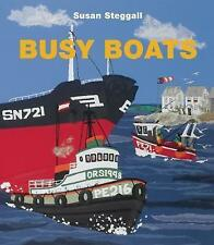 Busy Boats, New, Steggall, Susan Book