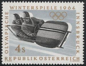 Österreich ANK 1172 F Olympia 4 S Bobfahrer STARK VERSCHOBENER DRUCK postfrisch
