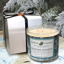 Juniper Candle | Winter Scented Candle | Fall Candle | Soy Wax Candle
