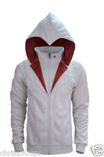 Assassin's Creed Unity - Ezio Brotherhood Hoodie sweater, unisex, logo, white