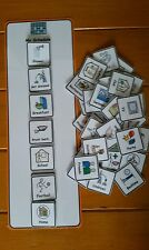 My Schedule Routine Visual Aid/Support & 40 Symbols for Autism/ADHD/ASD/SEN