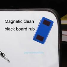 Flannel Magnetic Whiteboard Eraser School Office Plastic Dry Wipe Marker Cleaner