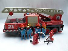 Playmobil Feuerwehr Leiterwagen mit Zubehör 3525 1981 Rarität