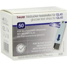 Beurer gl40 zucchero nel sangue strisce test 50 ST pzn7270292